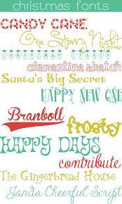 12 free christmas fonts