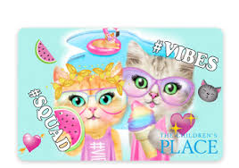 justice e gift card gift cards online gift cards the children s place