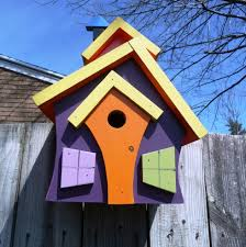 bird houses handmade from wood