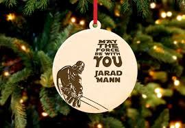 Personalised Christmas Ornaments - personalized christmas ornament star wars cabanyco