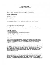 8 best images of mini lesson plan example template doc template 8