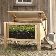 wooden bin 10 easy pieces wood compost bins gardenista