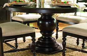 Pedestal Tables And Chairs Paula Deen Home Round Pedestal Table In Tobacco Code Univ20 For 20