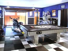 one car garage man cave home design