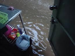 stuck on rice chao phraya singburi thailand flood 2011