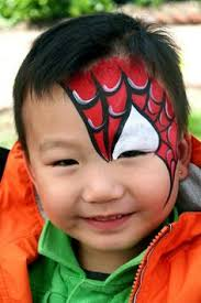 30 cool face painting ideas kids face paintings spiderman