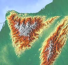 Sierra Nevada Mountains Map File Map Of Sierra Nevada De Santa Marta Png Wikimedia Commons
