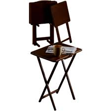 walmart tv table stand furniture tv tray table set alluring folding w storage stand best