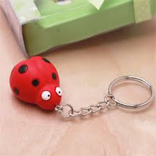 ladybug baby shower favors bug baby shower keychain favor baby shower favors baby