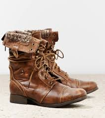 womens boots expensive eagle outfitters lace up boot 70 fold combat boots