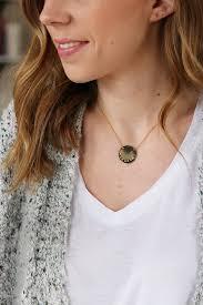 Personalized Disc Necklace Personalized Disc Necklace U2013 Elisabeth Ashlie