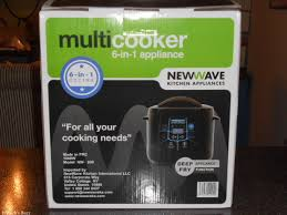 new wave kitchen appliances 6 in 1 multi cooker by new wave appliances save time and space