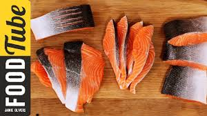 how to fillet a salmon or trout jamie oliver youtube