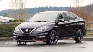 nissan sentra nismo interior video 2017 nissan sentra nismo edition review autonation drive