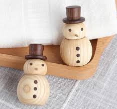 wooden snowman wooden snowman car aromatherapy essential diffuser feelgift