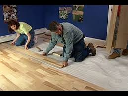 how to install pre finished engineered flooring this house
