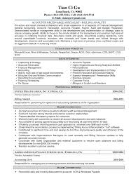 Sample Resume For by Accounts Receivable Resume Sample Template Design