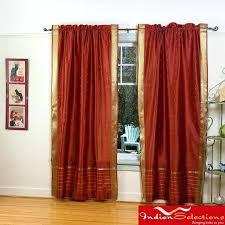 Burnt Orange Curtains Sale Rust Colored Curtains U2013 Teawing Co