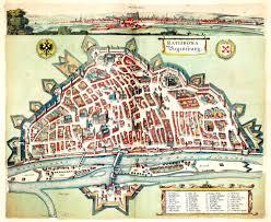 Regensburg Germany Map by Cities U0026 Towns Vol 2 Part 3 Johannes Jannson 1597 A 2 33 U2013 L Brown