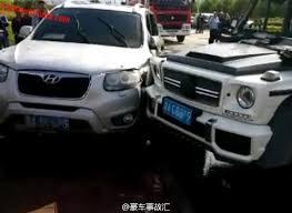 G Wagon 6x6 Interior Chinese Mansory Customer Crashes Mercedes Benz G63 Amg 6x6 Car