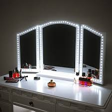 makeup mirror with led lights led vanity mirror lights kit for makeup dressing table vanity set
