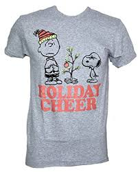 peanuts christmas t shirt peanuts charile brown christmas tree snoopy christmas cheer t