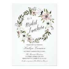 luncheon invitations bridal luncheon invitations announcements zazzle