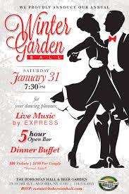 winter garden ball 2015 bohemian hall and beer garden of astoria