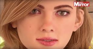 this robot looks just like scarlett johansson the mary sue