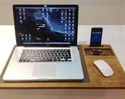 Lap Desk With Storage Compartment Lap Desk Etsy