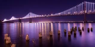 Bay Bridge Lights Bay Area Bridges Www Omnisourceimages Com
