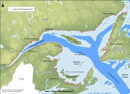 St Lawrence Seaway Map Canada Gulf Of St Lawrence