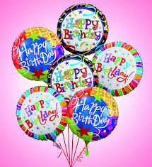 mylar balloon bouquets happy birthday balloon bouquet richardson s flowers