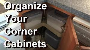 off the cuff how i organize my corner kitchen cabinets u0026 quick