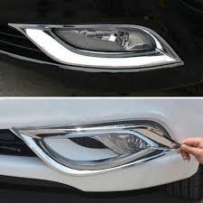 fit for hyundai sonata ye i45 2011 2012 car molding front fog