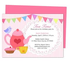 words for birthday invitation afternoon tea party invitation party templates printable diy edit