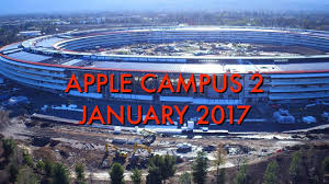 apple campus 2 mid january 2017 construction update youtube
