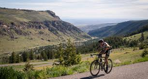 cycling wind mountain road biking wind river country