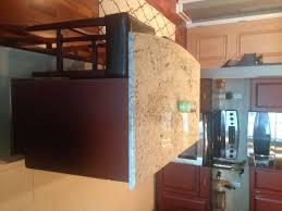colossus granite u0026 marble inc 3cm colonial gold kitchen island