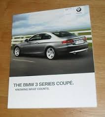 bmw 320i brochure bmw 3 series coupe e92 brochure 2009 320i 330i 335i 320d 325d 330d