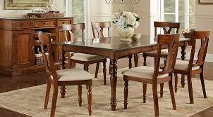 harwinton 7 pc leg dining room dining room sets dark wood