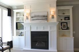 Built In Cabinets Living Room by Furniture Built In Cabinets Living Room Around Fireplace With