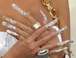 nail designs 2012 with diamonds unique nails aka awful