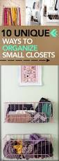 10 unique ways to organize small closets