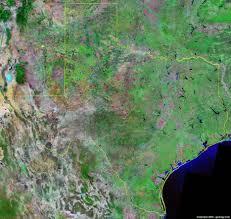Map Of Austin Tx Texas Satellite Images Landsat Color Image