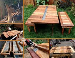 Build Wooden Picnic Table by 21 Best Wood Projects Picnic Tables Images On Pinterest Home