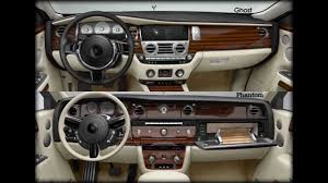 roll royce ghost rolls royce phantom vs ghost interior and exterior pics youtube