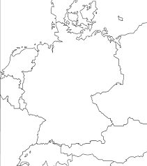 Blank Map Of Europe 1914 by 1 Outline Map Of Germany And Surrounding Countries Weimar Republic