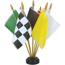 Plastic Flags Auto Racing Flags Eder Flag