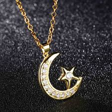 necklace pendant star images Lokaer religious allah necklaces pendants for girl muslim islam jpg